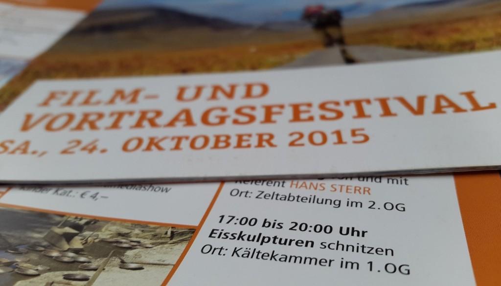 Globetrotter Film und Vortragsfestival Eisschnitzen